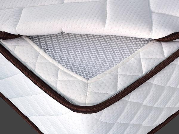 雨辉床垫环保棕垫天然椰棕席梦思1.2米1.5偏硬精钢弹簧棕榈床垫YH9016