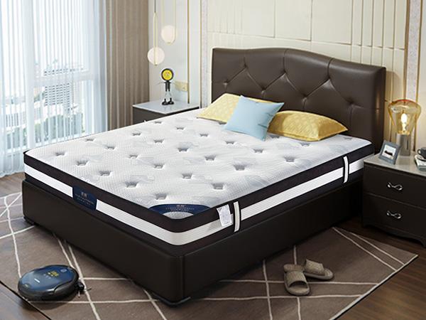 雨辉床垫独立筒弹簧纯天然进口乳胶床垫1.5m席梦思床垫1.8米 YH9001