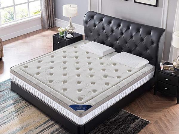 雨辉海绵抗菌压缩床垫防螨加厚1.5m1.8米单双人宿舍记忆棉床垫F158