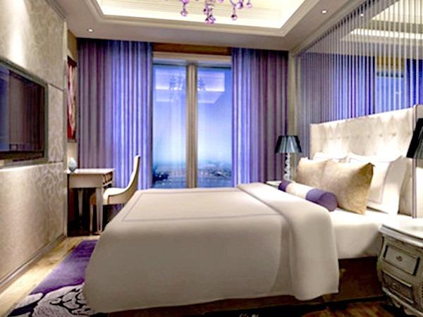 雨辉床垫美丽之冠七星酒店应用案例