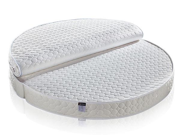 雨辉纯天然乳胶床垫1.8米1.5m酒店折叠床垫床加厚双人弹簧床垫YH8016