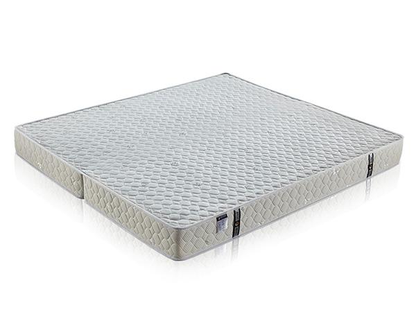 雨辉可折叠进口乳胶床垫1.5米1.8m出口耐压耐磨精钢弹簧床垫 YH8015