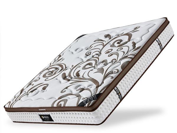 雨辉床垫乳胶独立筒弹簧席梦思1.5米1.8m高弹高纯度乳胶床垫 YH8018