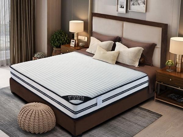 雨辉智能按摩床垫1.5出口耐压耐磨精钢弹簧共享乳胶床垫1.8米YH9009-1