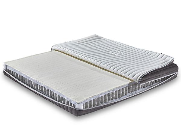 天然进口乳胶床垫九区独立筒弹簧床垫 多功能全拆洗民用床垫YH9017