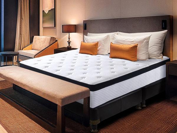 独立弹簧床垫加厚高纯度进口乳胶床垫1.8/1.5米可定制民用床垫YH9025