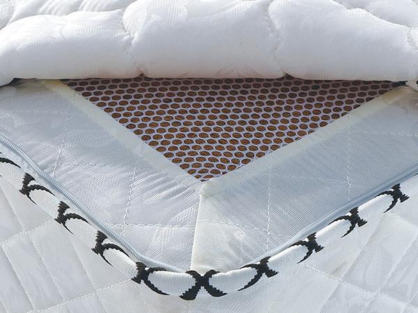 雨辉床垫 精钢整网弹簧椰棕床垫1.5m 席梦思护脊偏硬床垫可定制YH9023