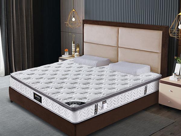 雨辉五星酒店床垫真空压缩卷包席梦思高弹海绵软床垫新型卷弹簧YH8011