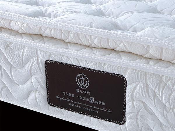 雨辉进口乳胶床垫独立弹簧床垫1.8米五星酒店席梦思加厚床垫YH9022